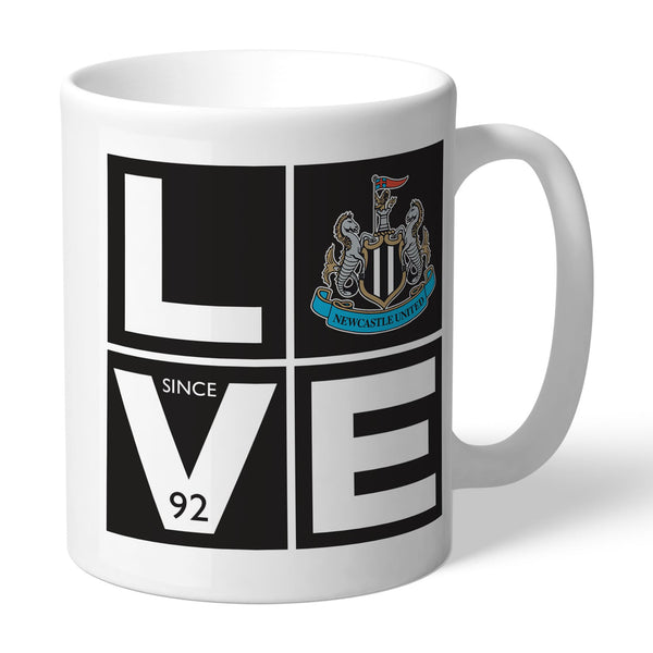 Newcastle United Love Mugs, Gifts