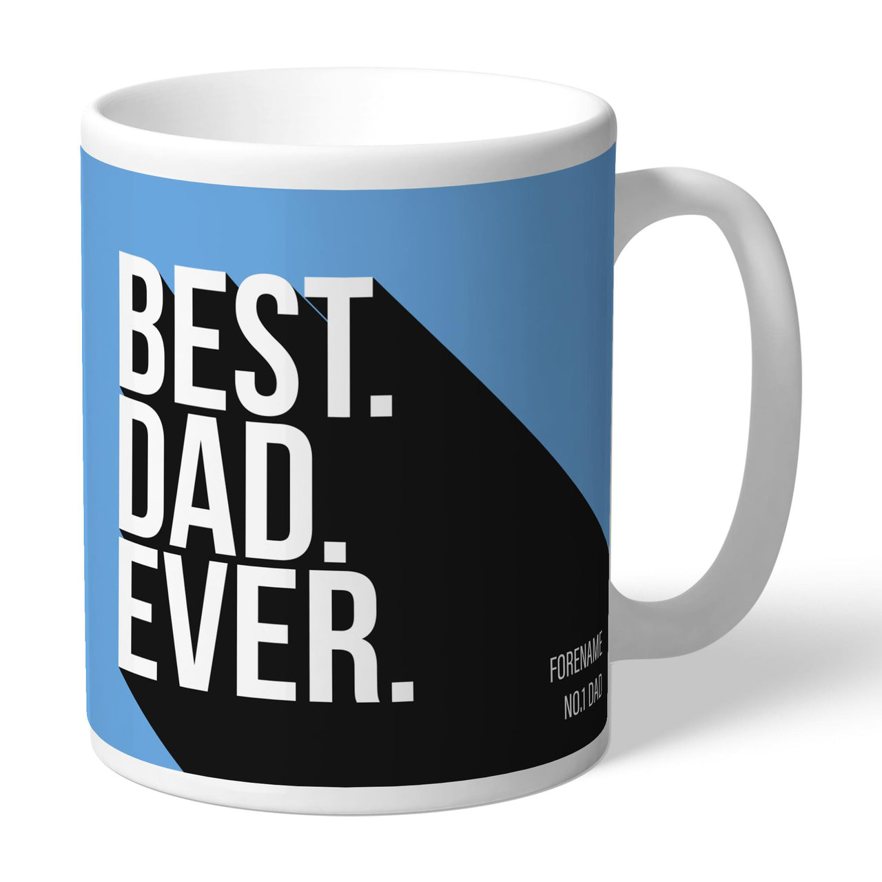 Manchester City Best Dad Ever Mugs, Gifts