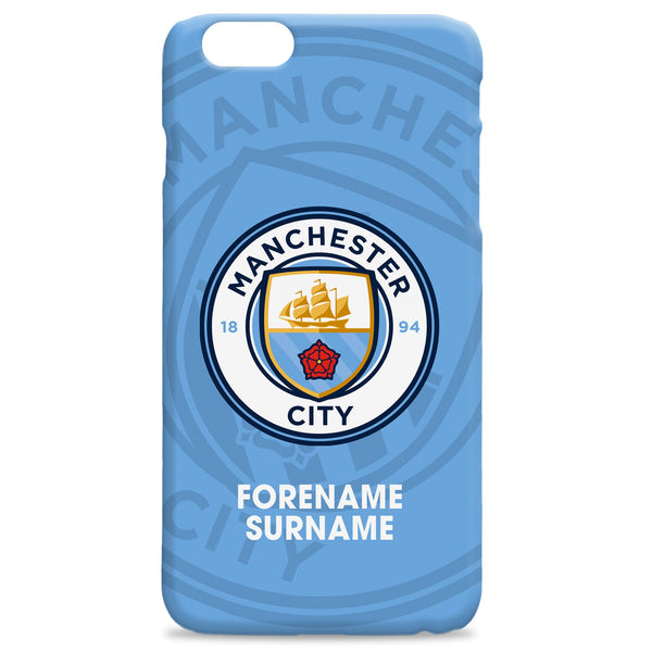 Manchester City FC Bold Crest Phone Case, Gifts