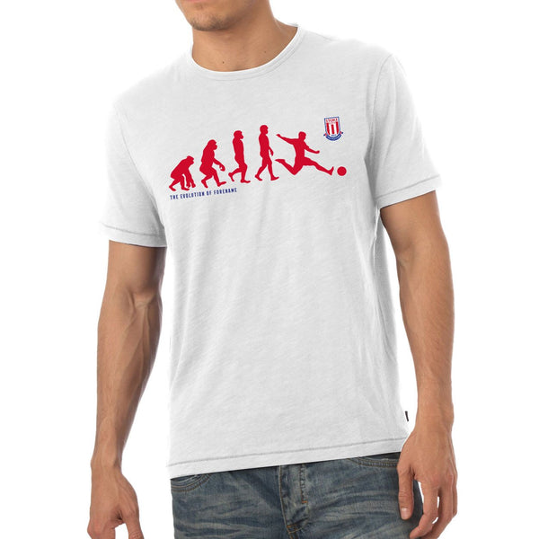 Stoke City Evolution Mens T-Shirt