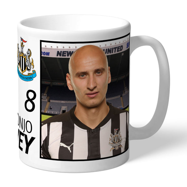 Newcastle United FC Shelvey Autograph Mugs, Gifts