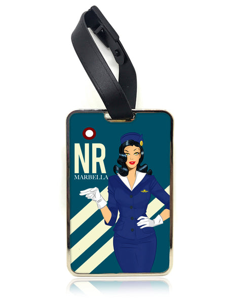 DesPop Air Luggage Tag - Navy