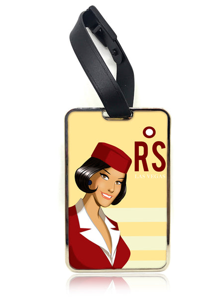 DesPop Air Luggage Tag - Red