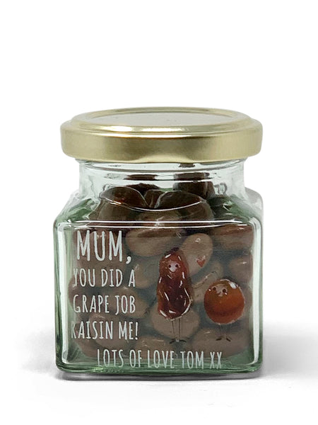 You've done a Grape Job - small Gift Jar
