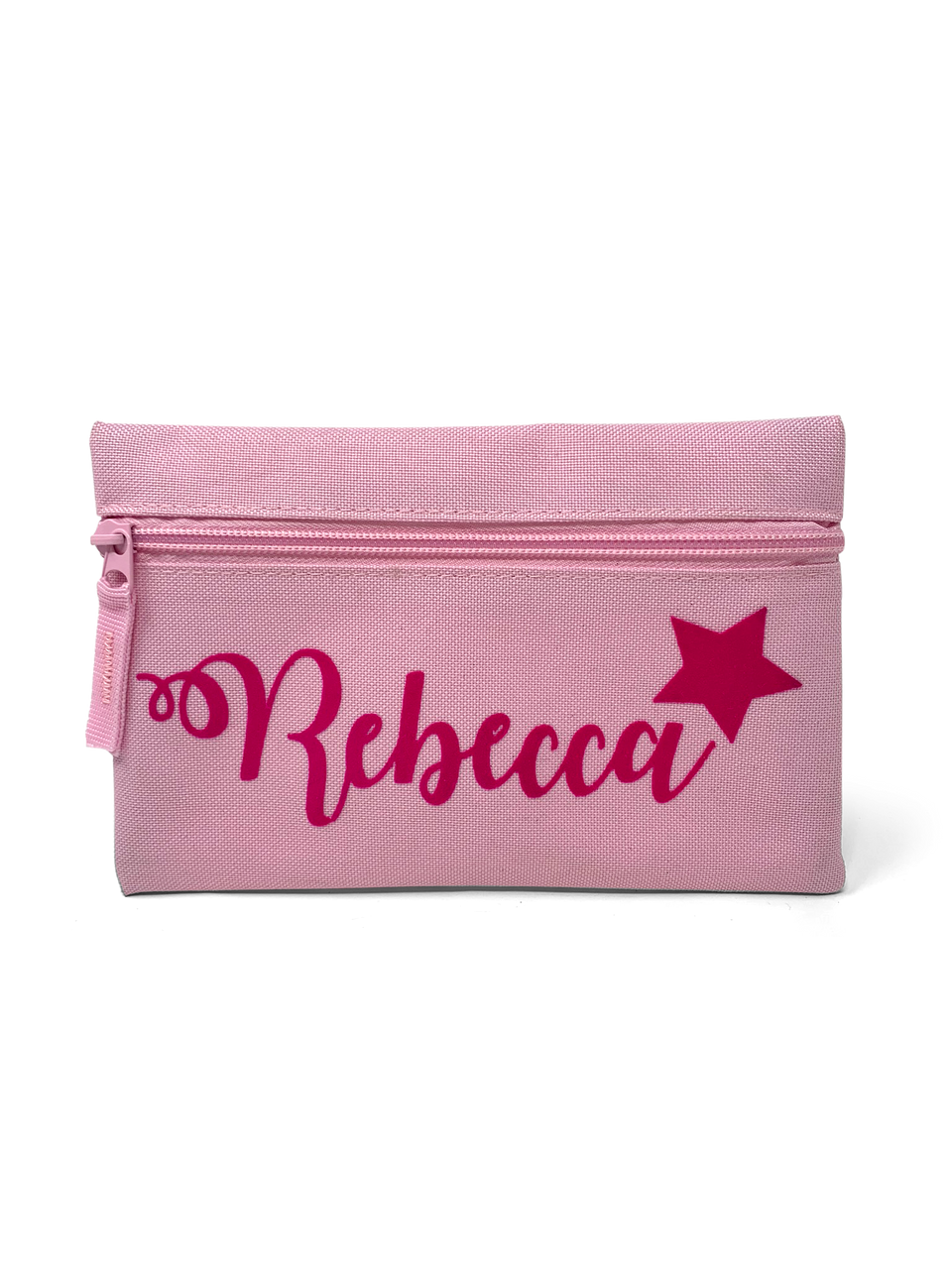 Pink Star Zip Case Bag