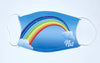 Filtered Face Mask - Rainbow