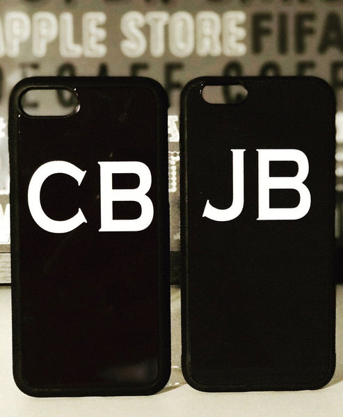 Phone Case - Initials - Black