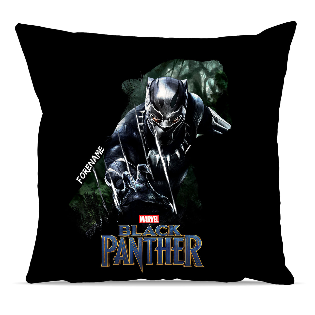 Marvel Black Panther Double Exposure Cushions, Gifts