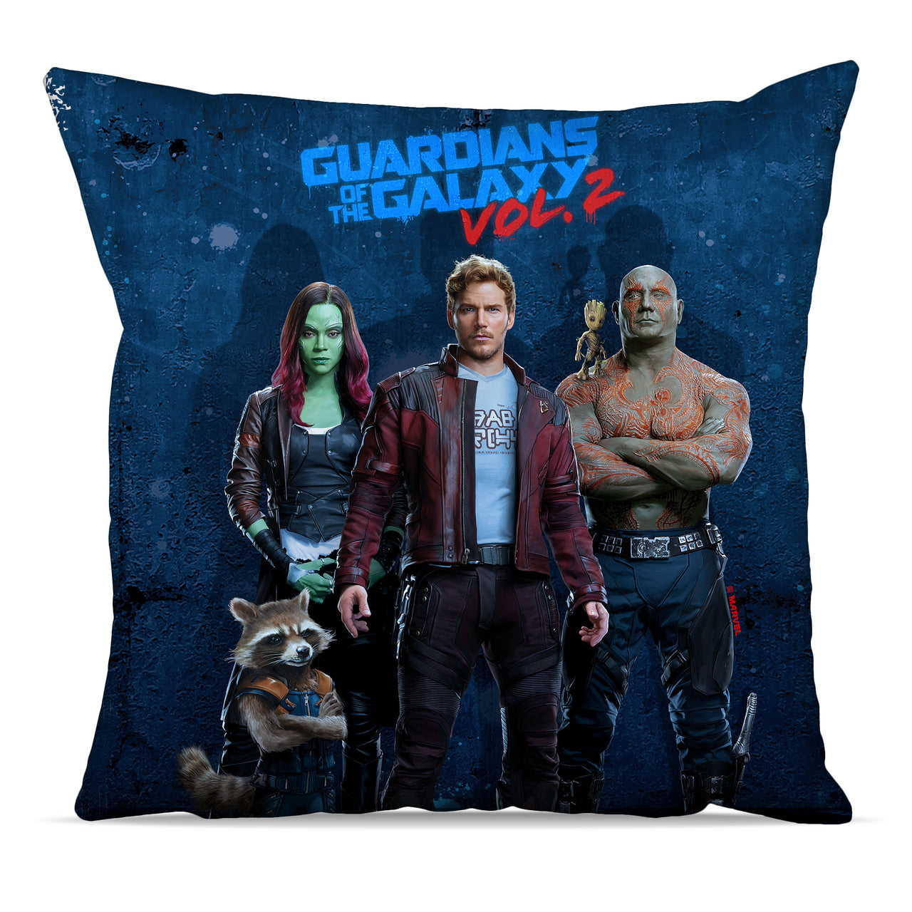 Marvel Guardians of the Galaxy Grunge Cushions, Gifts