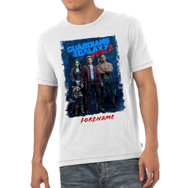 Marvel Guardians of the Galaxy Grunge Mens T-Shirt