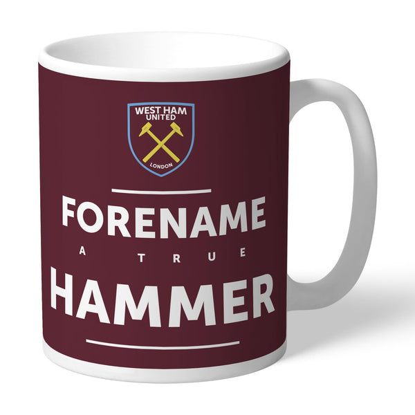 West Ham United True Mugs, Gifts