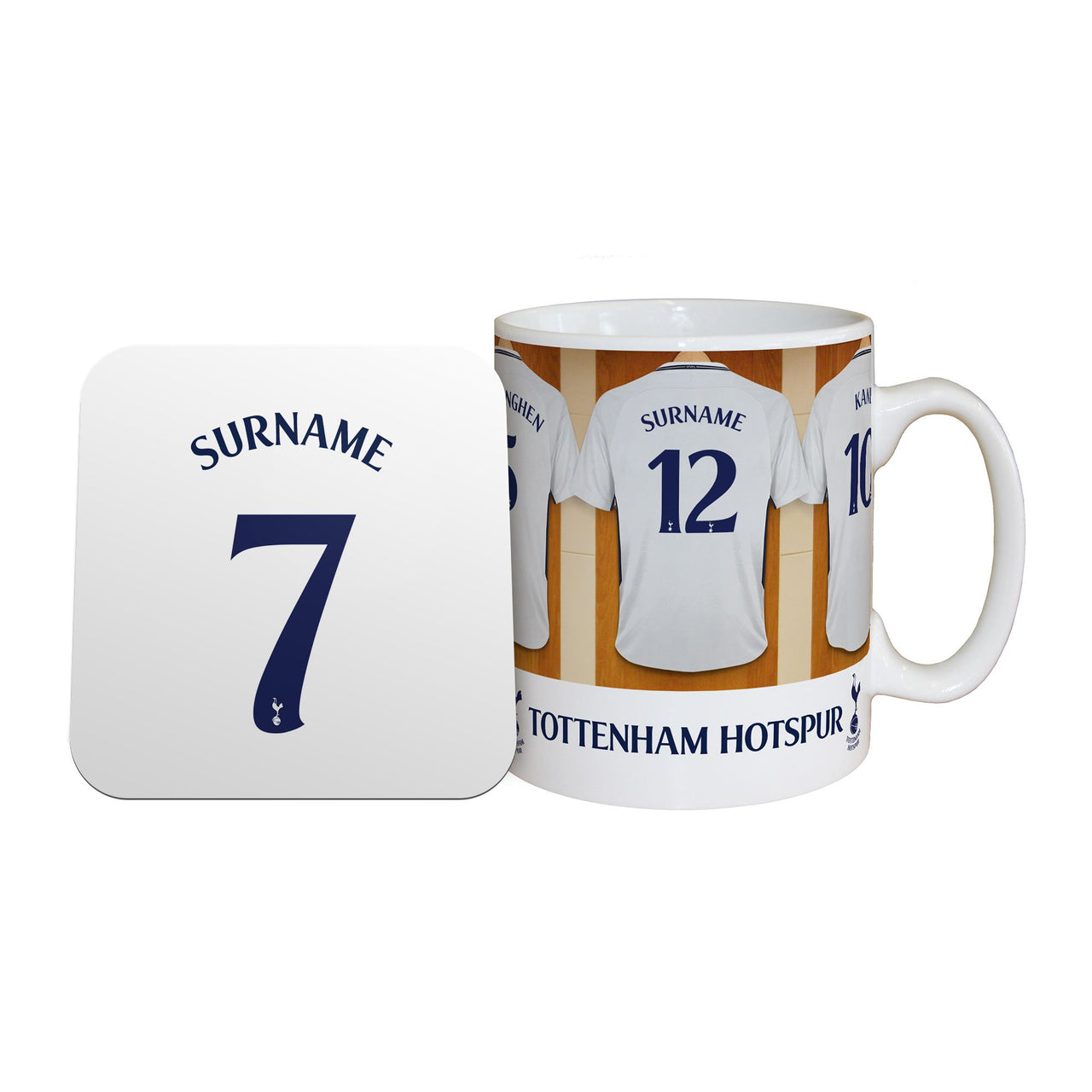 Tottenham Hotspur Dressing Room Mugs, Gifts & Coaster Set
