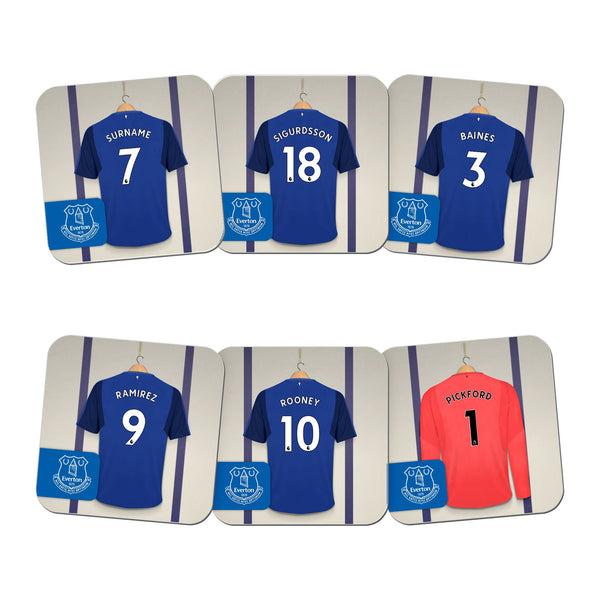 Everton FC Dressing Room Coasters