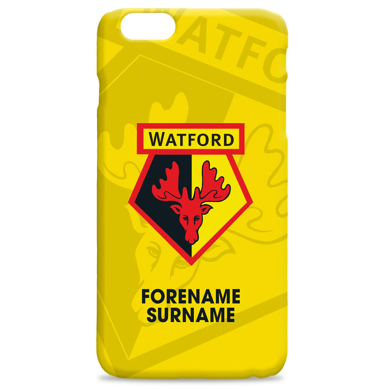 Watford FC Bold Crest Phone Case, Gifts
