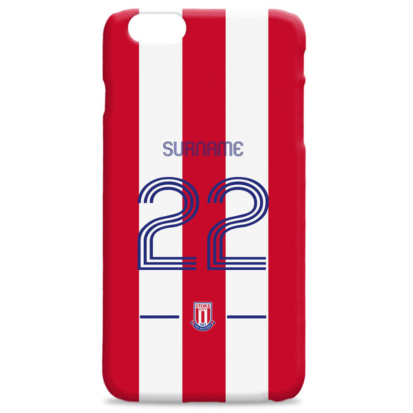 Stoke City Retro Shirt Phone Case, Gifts