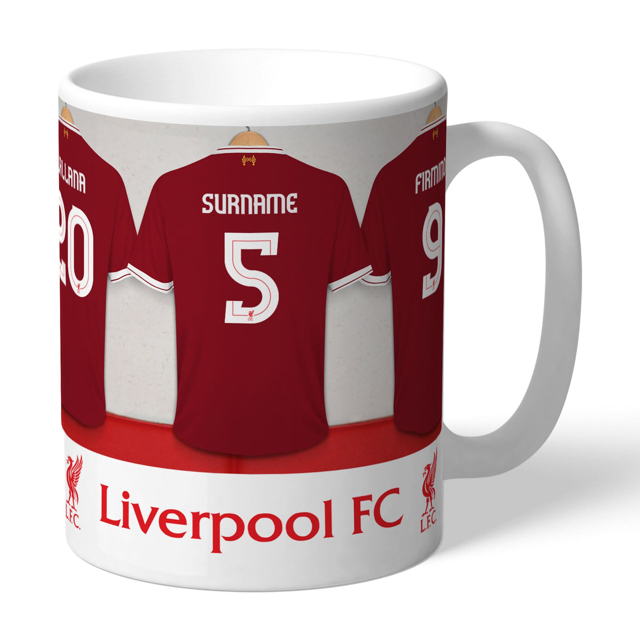 Liverpool FC Dressing Room Mugs, Gifts