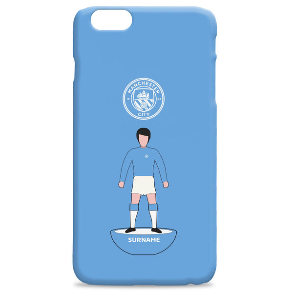Manchester City Player Figure Phone Case, Gifts
