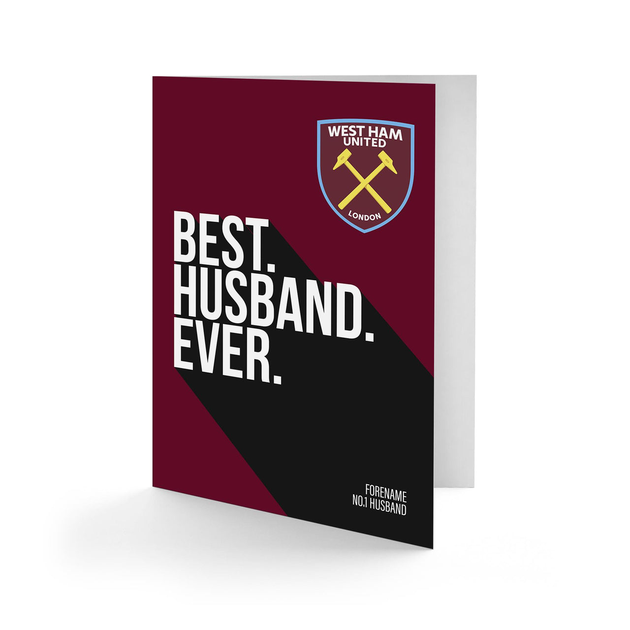 West Ham United Best Husband Ever Card