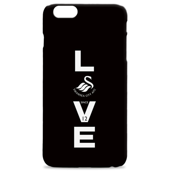 Swansea City AFC Love Hard Back Phone Case, Gifts
