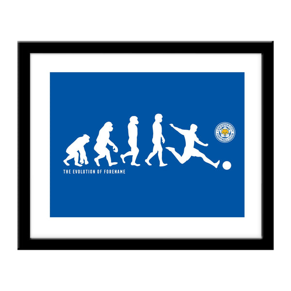 Leicester City Evolution Print