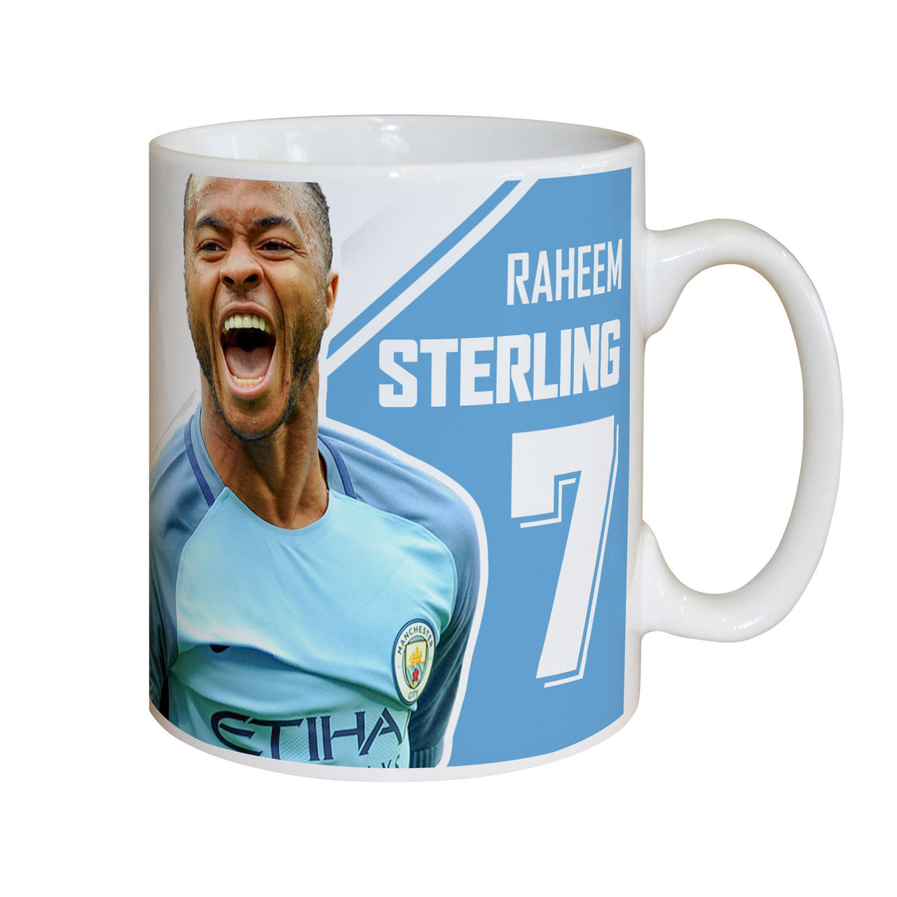 Manchester City FC Sterling Autograph Mugs, Gifts