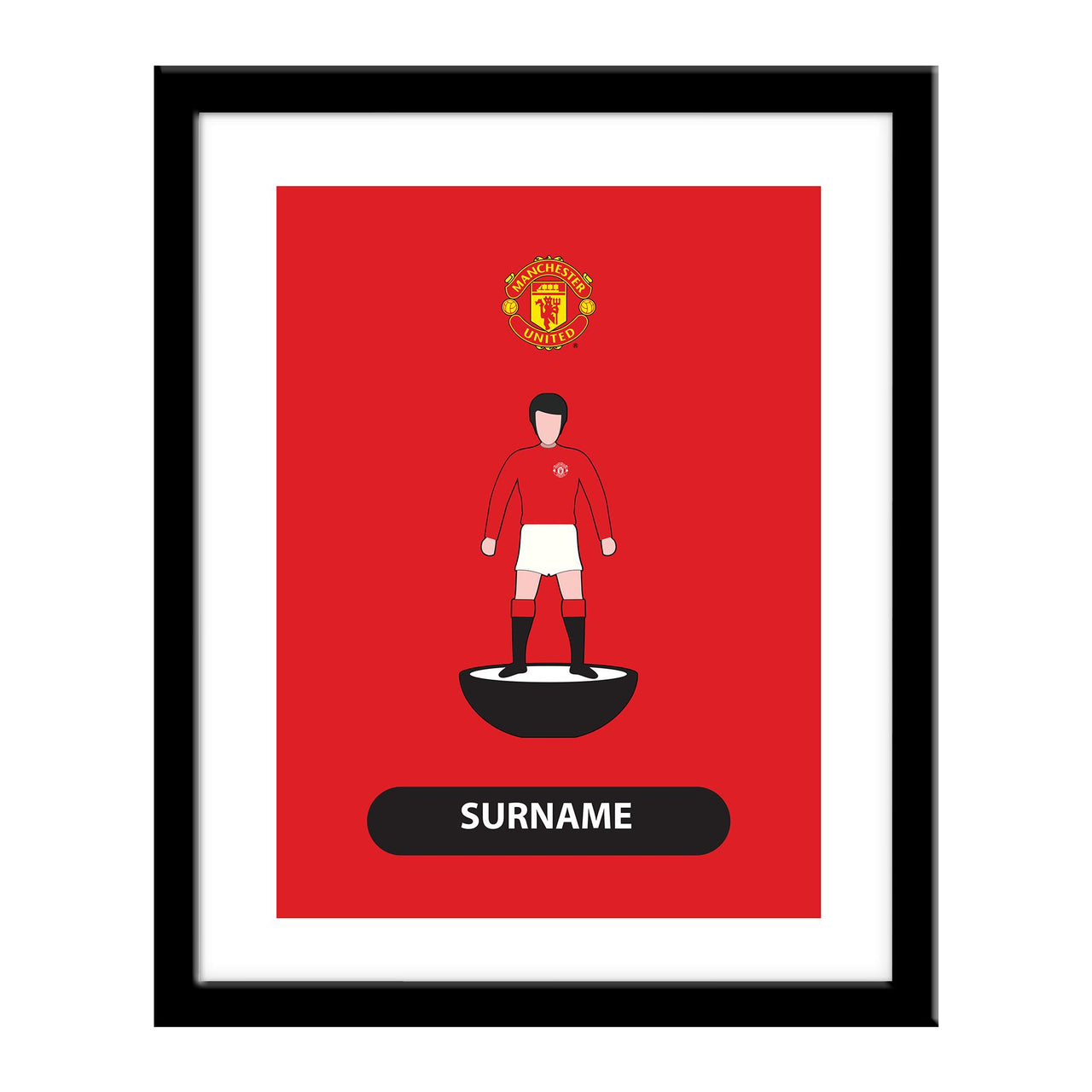 Manchester United Player Figure Print