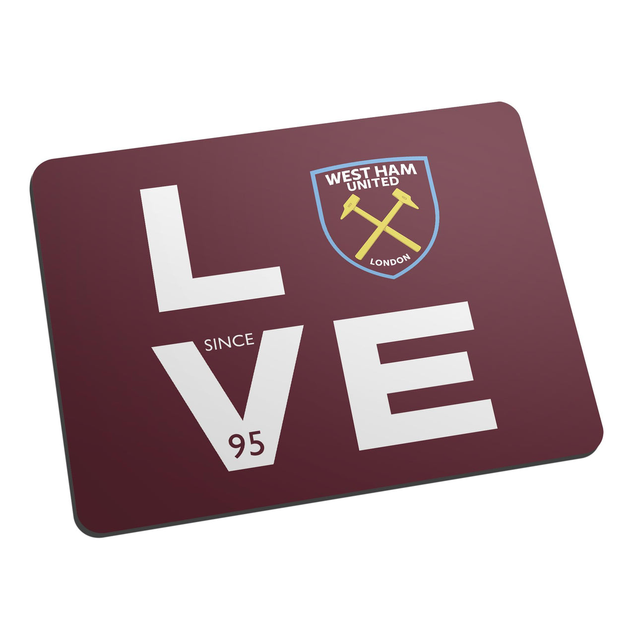 West Ham United Love Mouse Mat