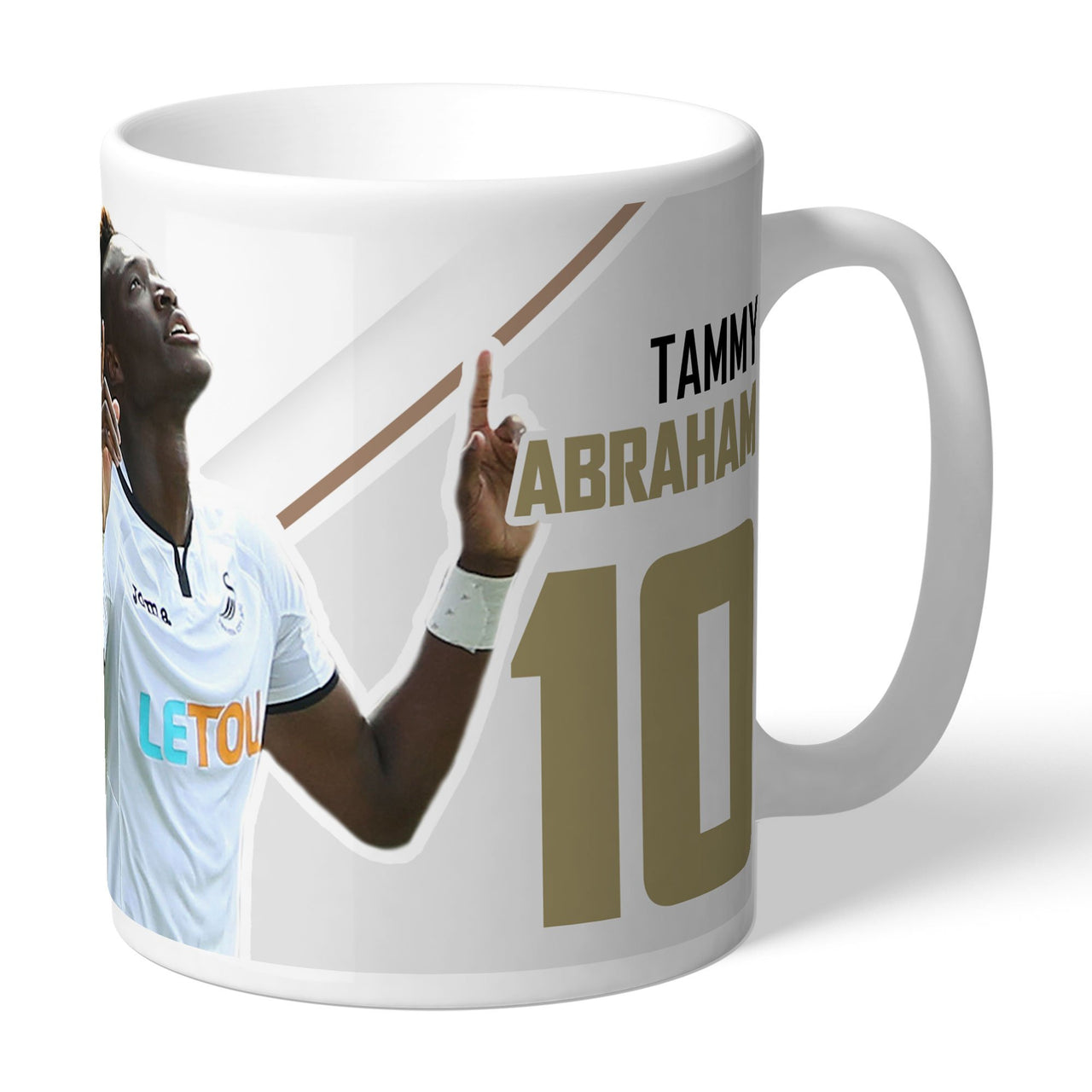 Swansea City AFC Abraham Autograph Mugs, Gifts