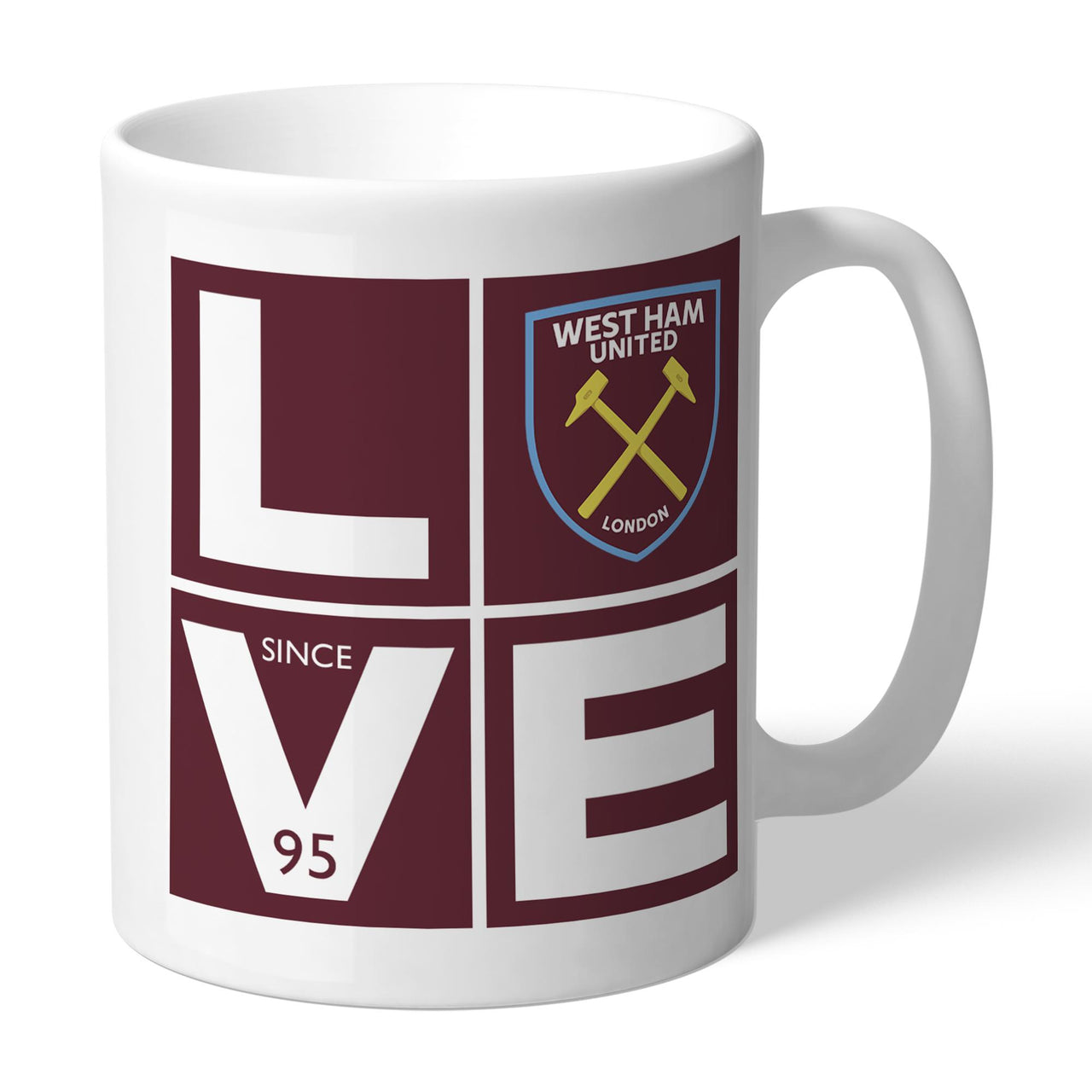 West Ham United Love Mugs, Gifts