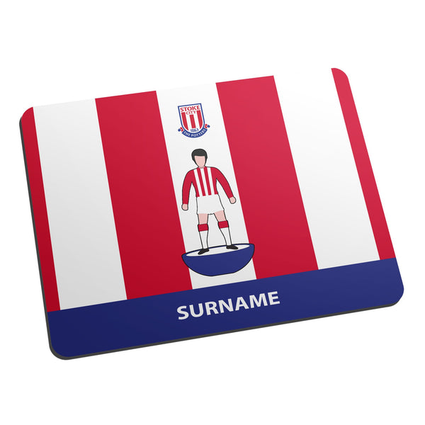 Stoke City Player Figure Mouse Mat