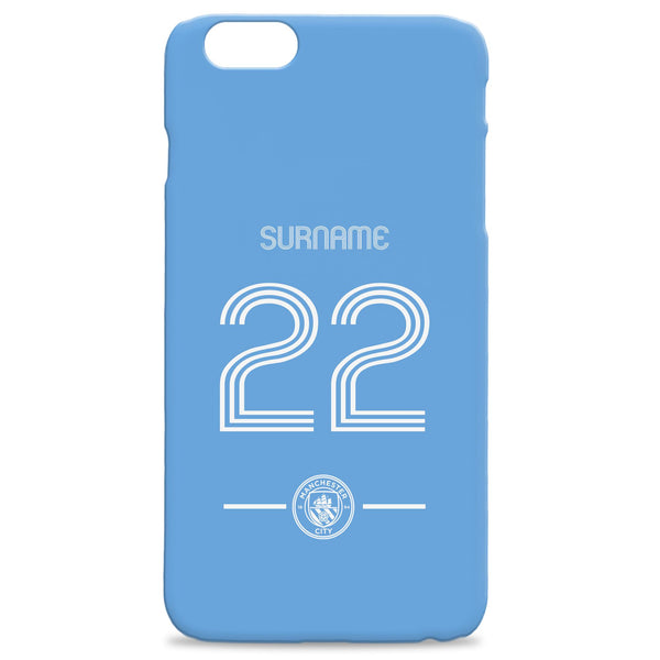 Manchester City Retro Shirt Phone Case, Gifts