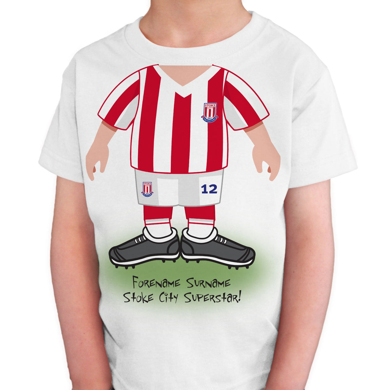 Stoke City FC Kids Use Your Head T-Shirt