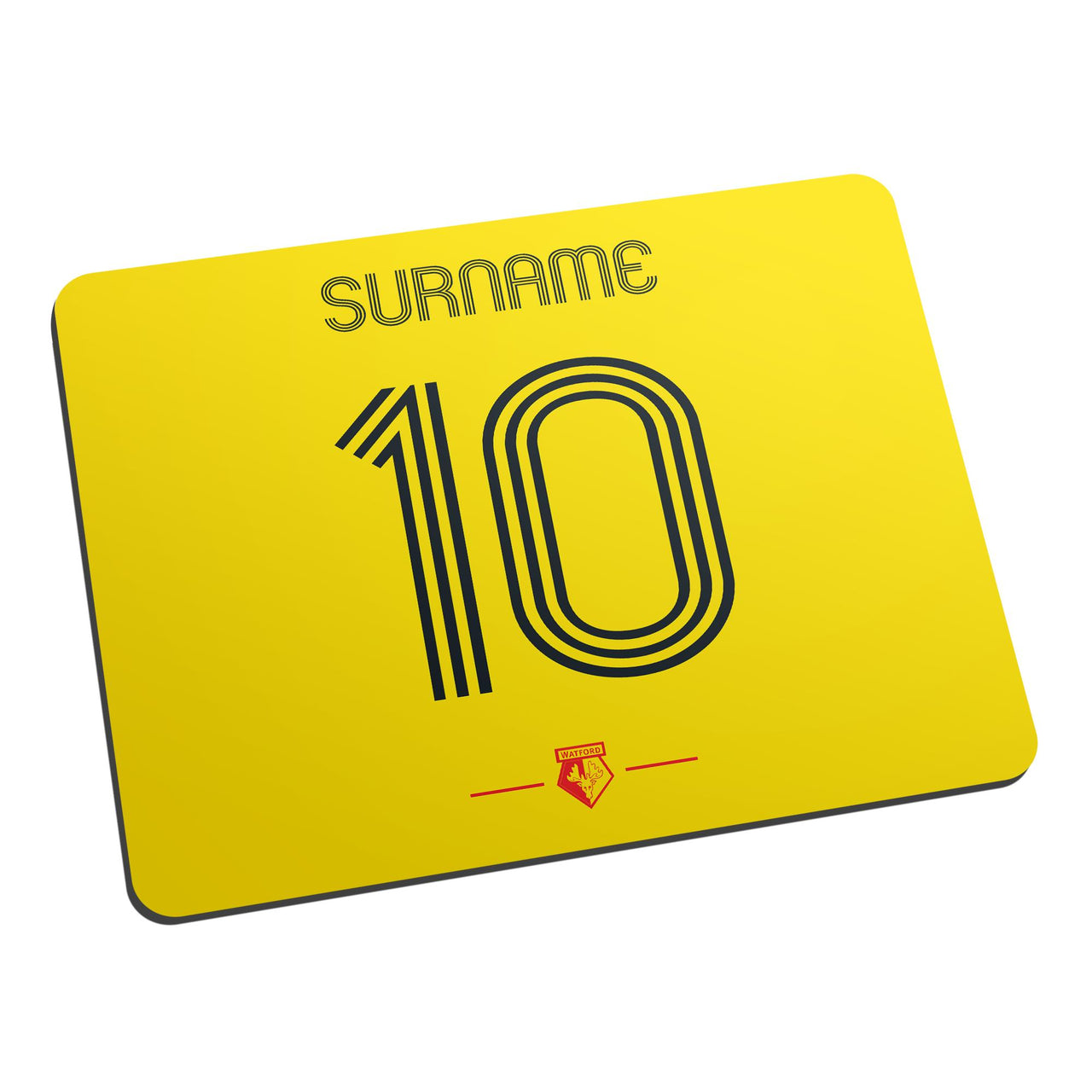 Watford Retro Shirt Mouse Mat