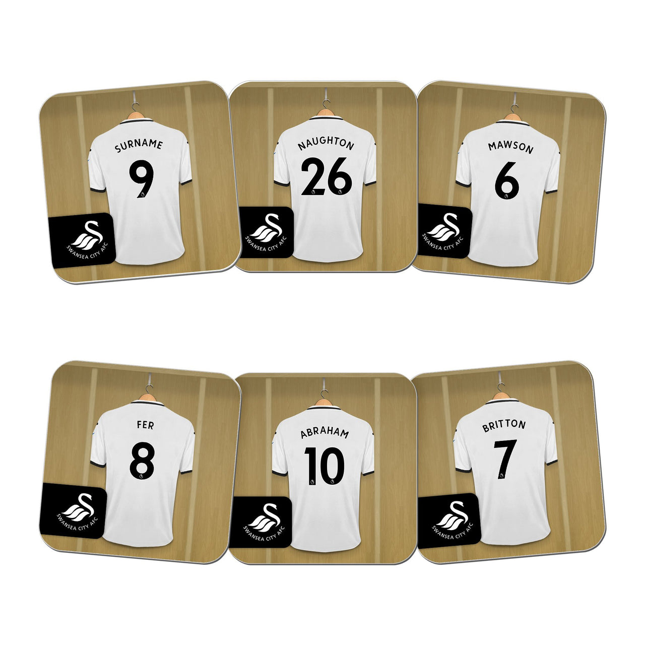 Swansea City AFC Dressing Room Coasters