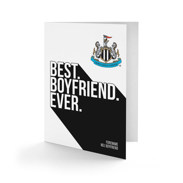 Newcastle United Best Boyfriend Ever Card