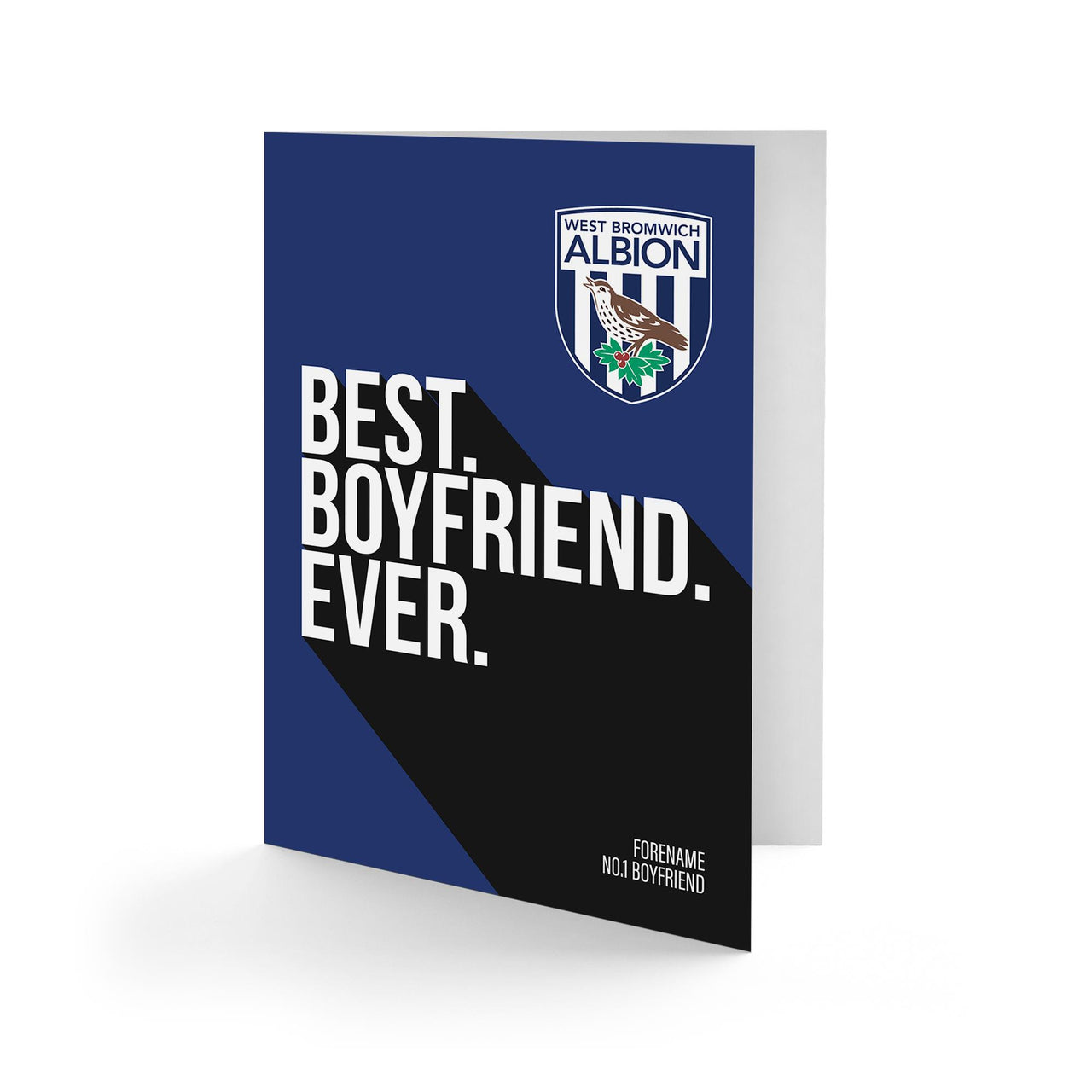 West Bromwich Albion Best Boyfriend Ever Card