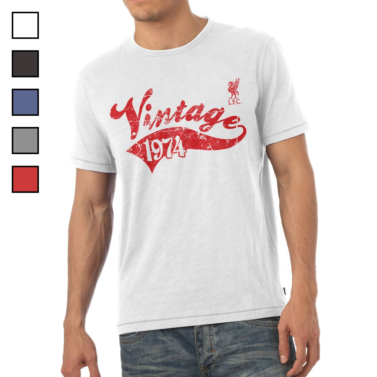 Liverpool FC Mens Vintage T-Shirt