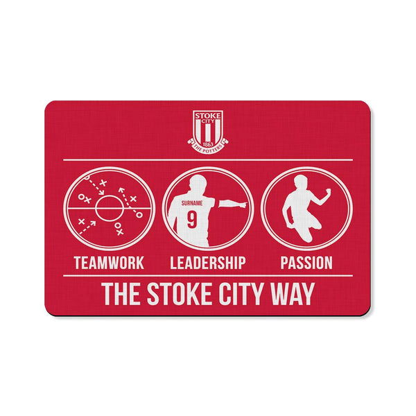 Stoke City FC Way Floor Mat