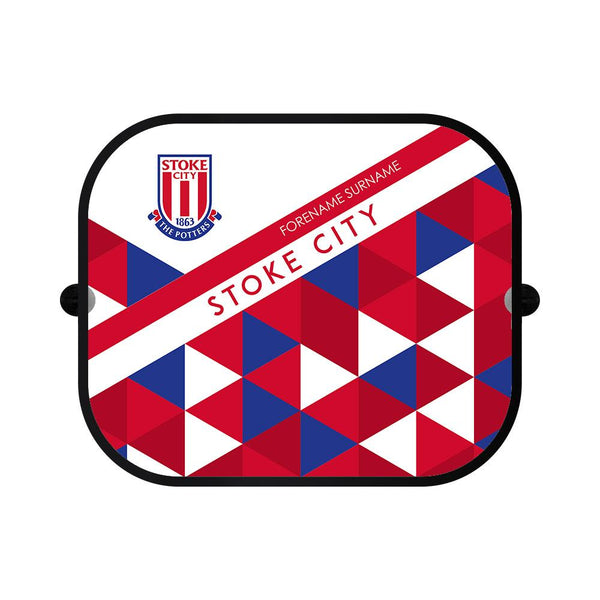 Stoke City FC Patterned Car Sunshade