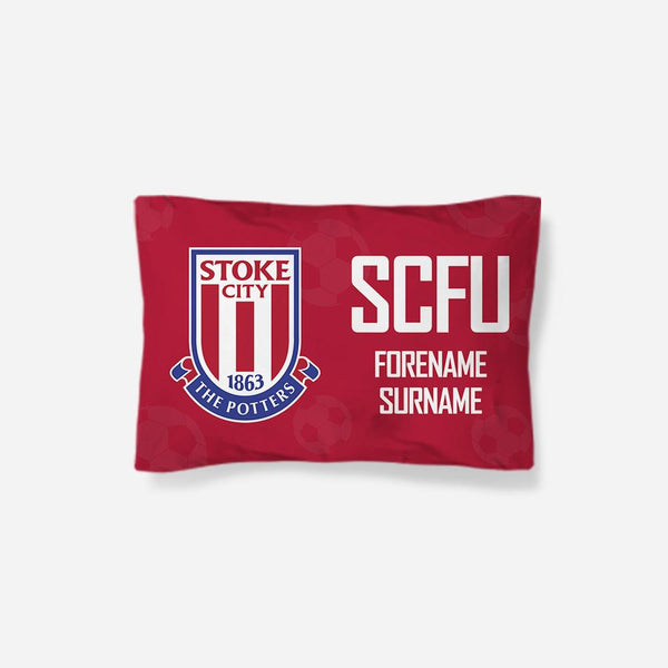 Stoke City FC Crest Pillowcase