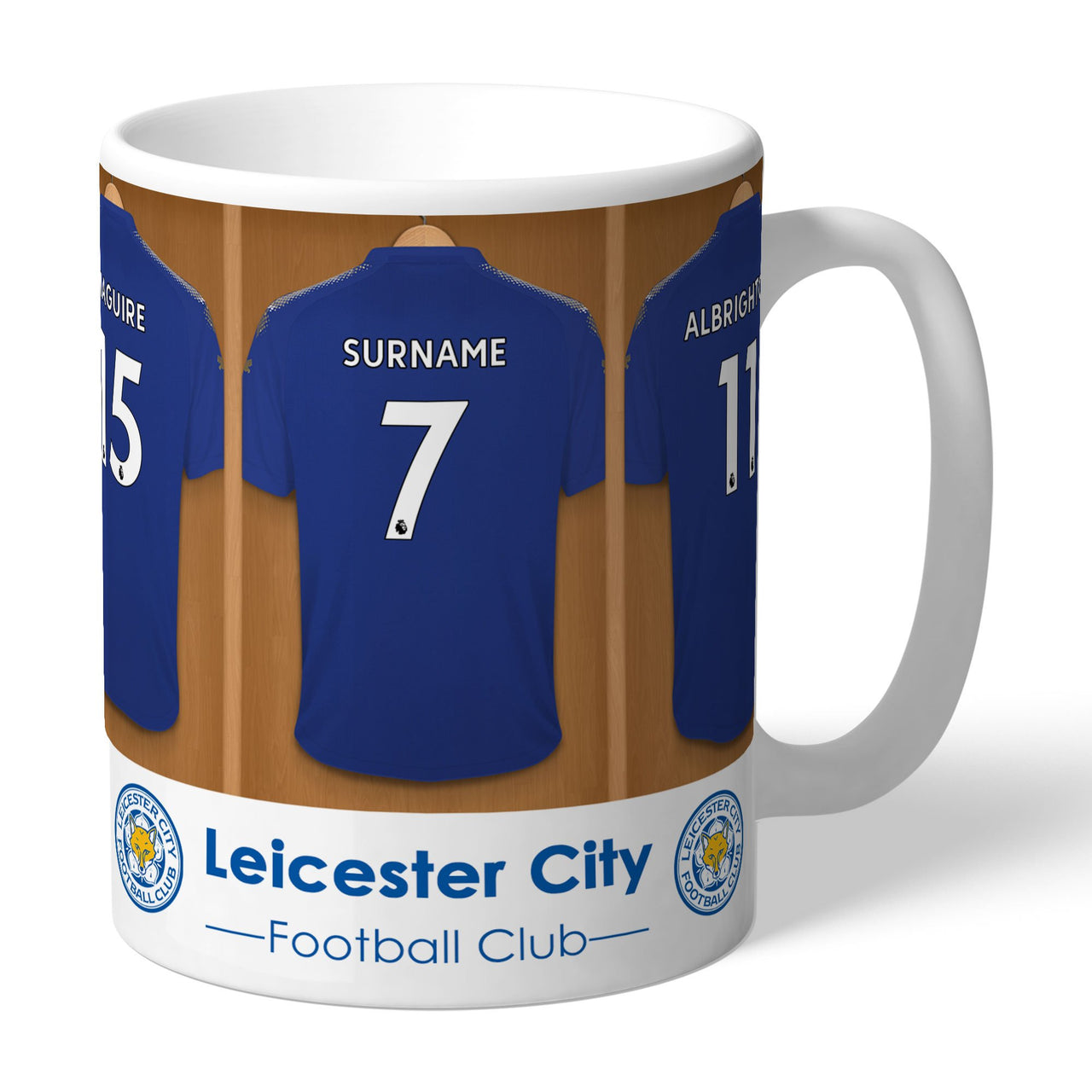 Leicester City FC Dressing Room Mugs, Gifts