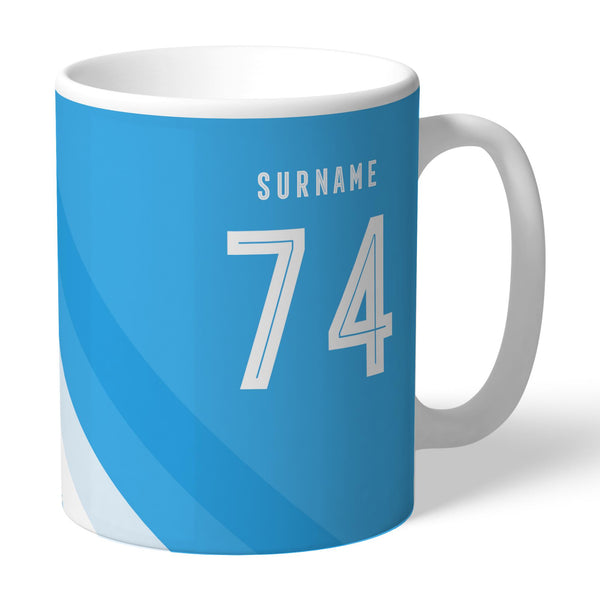 Manchester City Stripe Mugs, Gifts