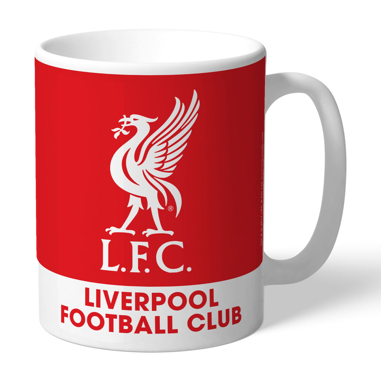 Liverpool FC Bold Crest Mugs, Gifts