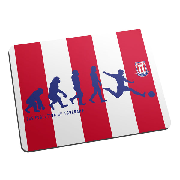 Stoke City Evolution Mouse Mat