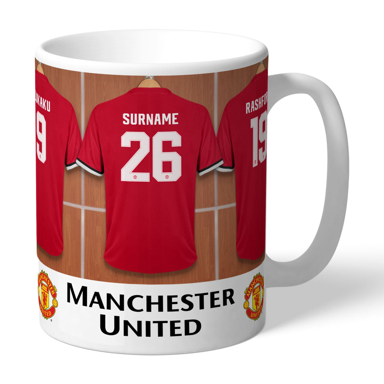 Manchester United FC Dressing Room Mugs, Gifts