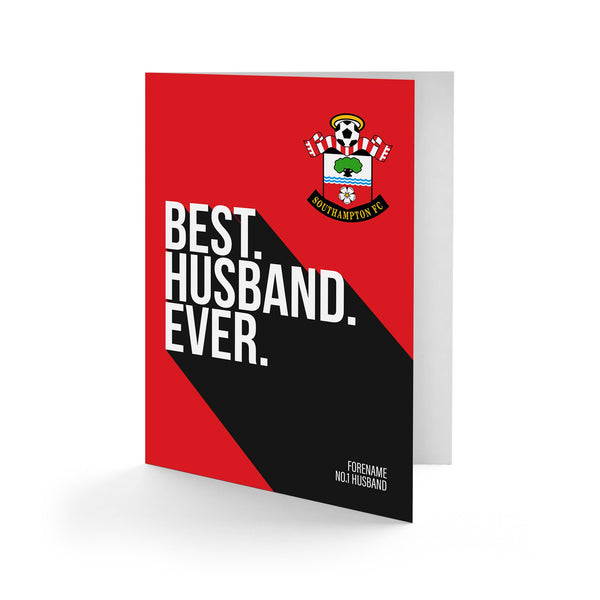 Southampton Best Husband Ever Card