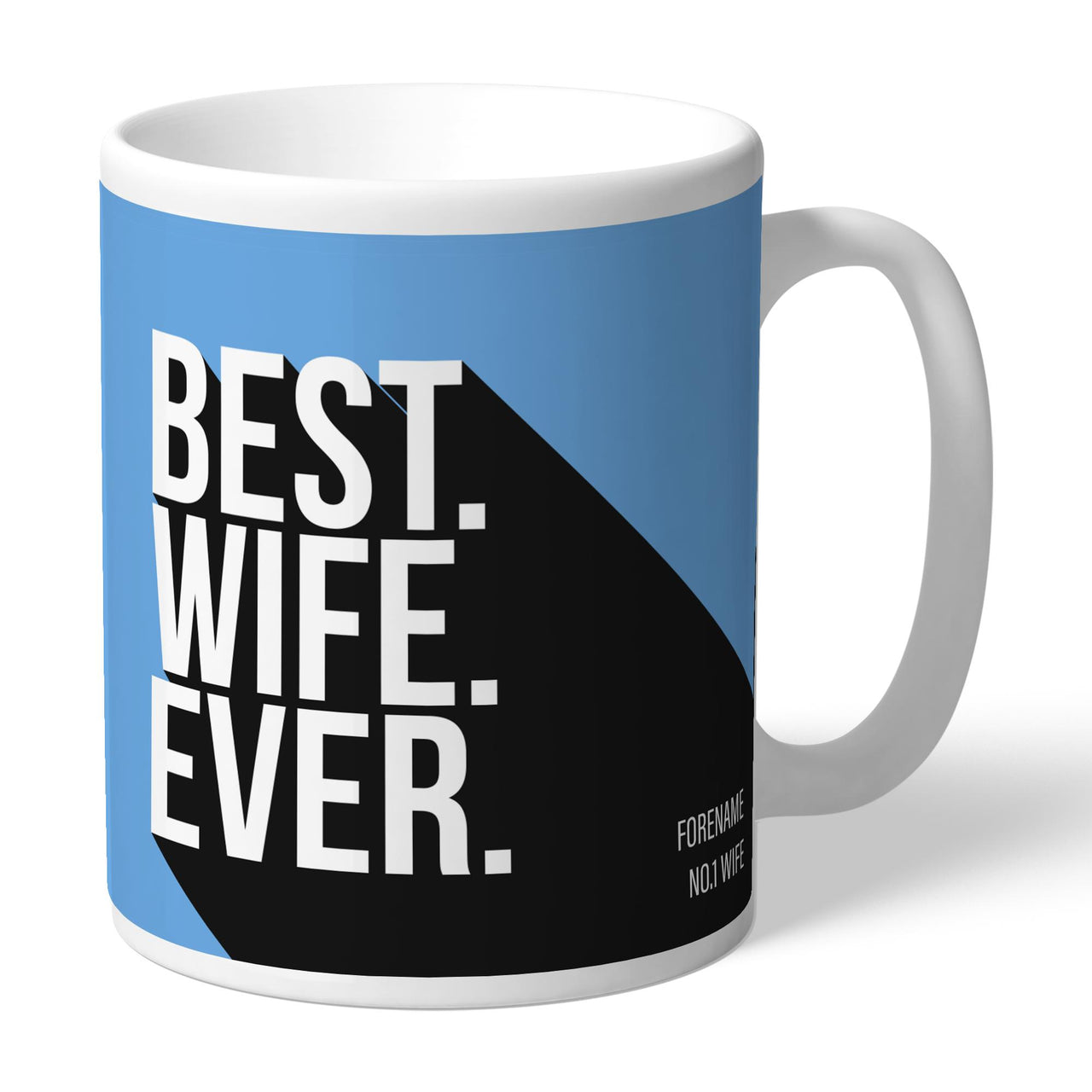 Manchester City Best Wife Ever Mugs, Gifts
