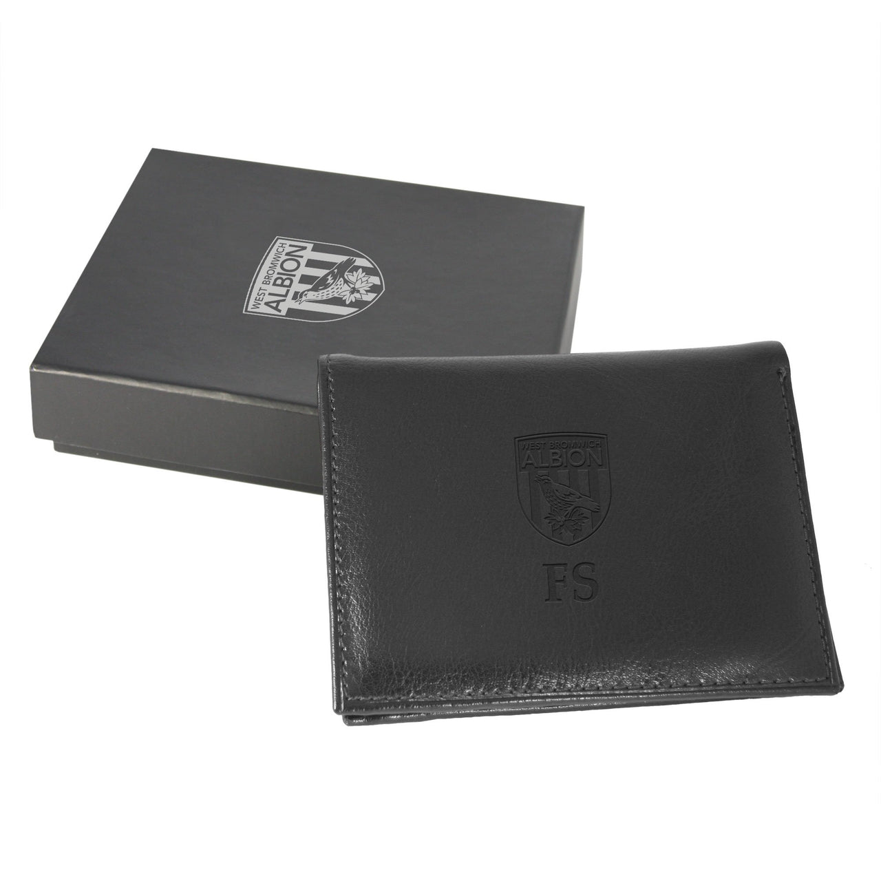 West Bromwich Albion Black Crest Wallet