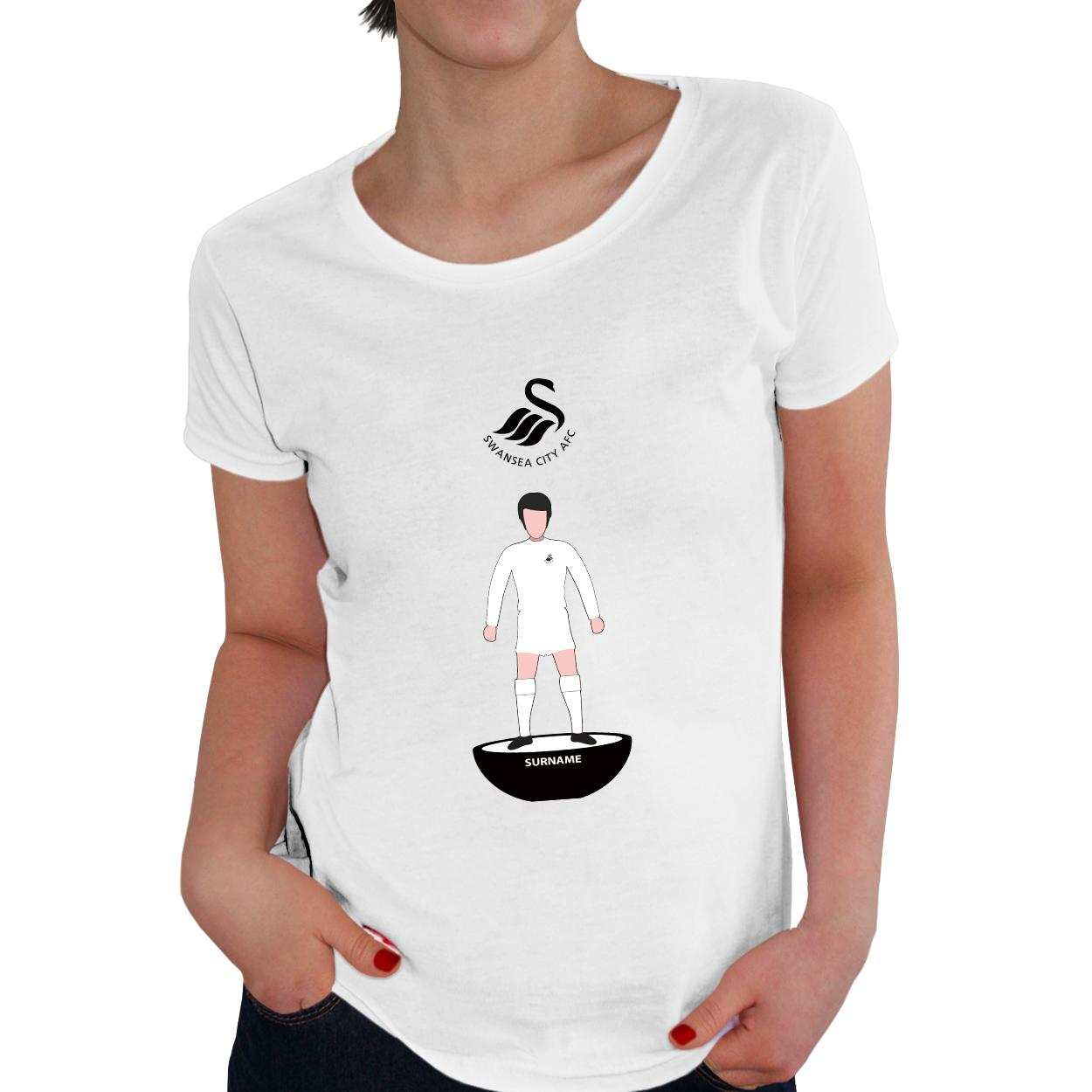 Swansea City Player Figure Ladies T-Shirt