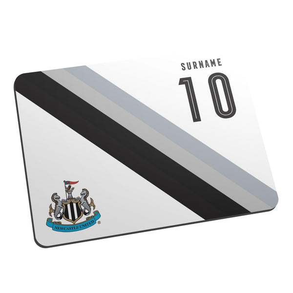 Newcastle United Stripe Mouse Mat